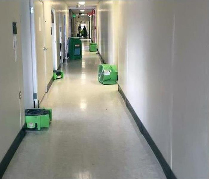Commercial Water Damage – Covina Offices After