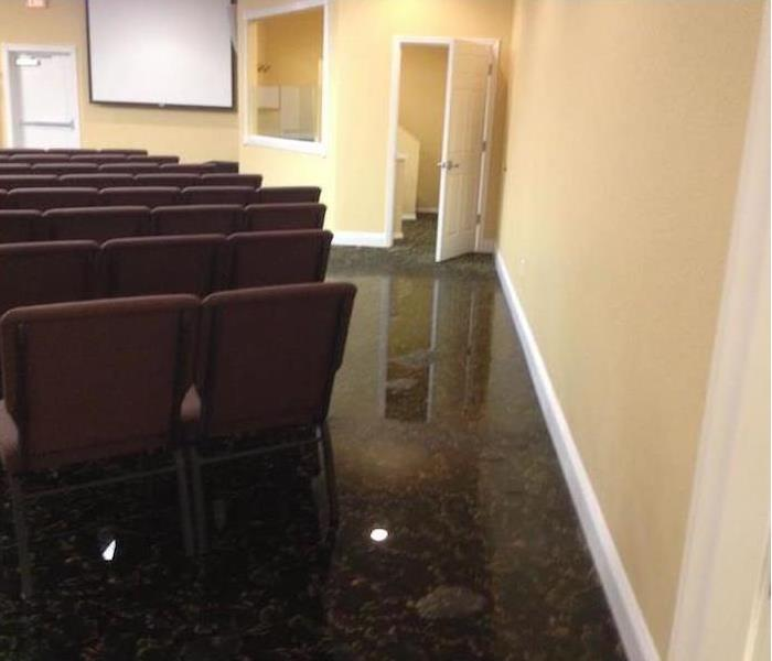 Commercial Water Damage – Covina  Before