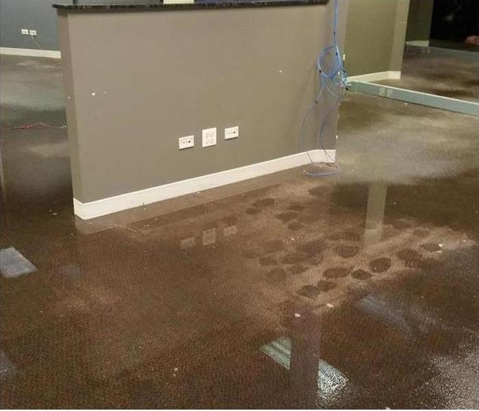 Covina Water Damage in an Office