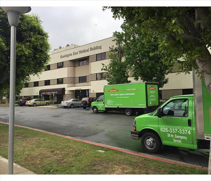 A Flooded Glendora Medical Building Gets the SERVPRO Treatment