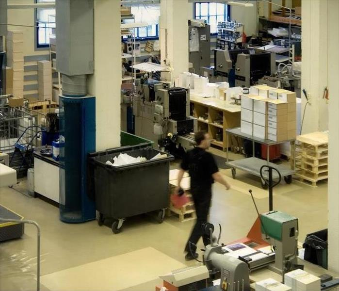 Commercial Printing Contractor Suffers Water Damage in Irwindale